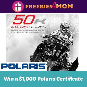 Sweeps Polaris $50k in 50 Days