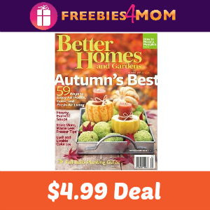 Magazine Deal: Better Homes and Gardens $4.99