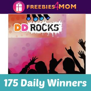 Sweeps Dunkin' Donuts DD Rocks