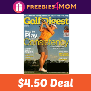 Magazine Deal: Golf Digest