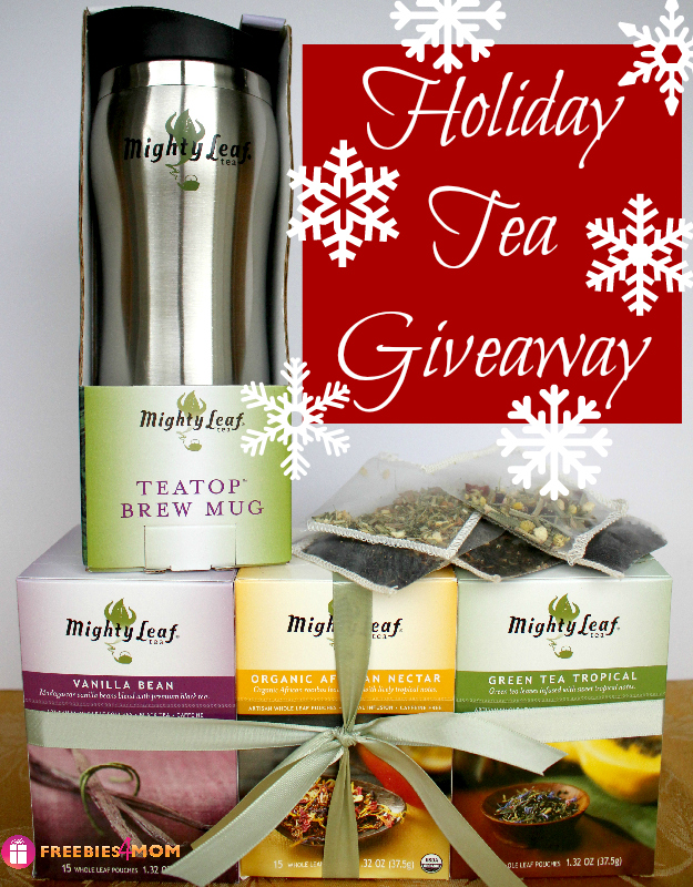 Mighty Leaf Tea Giveaway ($46.95 value)