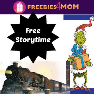 Free Holiday Storytimes at Barnes & Noble