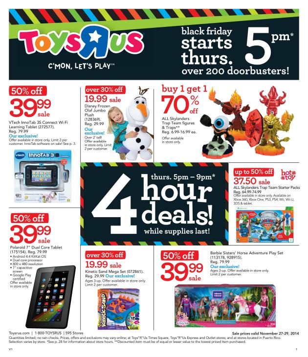"Toys""R""Us Black Friday Deals"