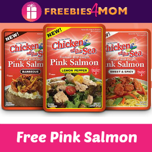 Free Chicken of the Sea Pink Salmon Pouch