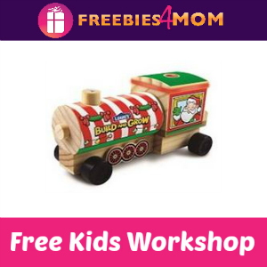 Free Holiday Train Engine Lowe's Kids Clinic 12/13