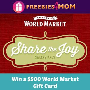 Sweeps World Market Share the Joy