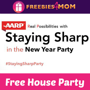Free House Party: AARP Staying Sharp