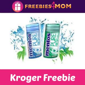 Free Mentos Gum at Kroger