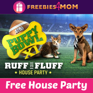 Free House Party: Puppy Bowl Ruff vs. Fluff