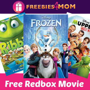 Free Redbox Movie (Monday Only)