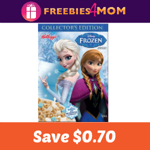 Coupon: Save $0.70 on Disney Frozen Cereal