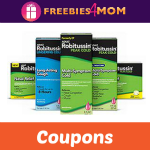 Coupon: Save $2 off one Robitussin