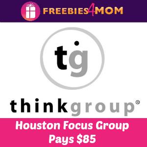 HOUSTON $85 Focus Group on Wednesday, Feb. 25