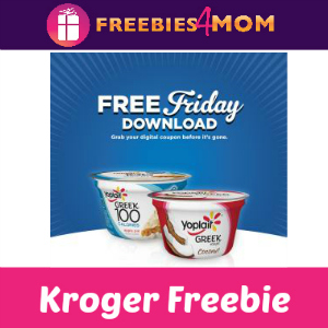 Free Yoplait Greek Yogurt at Kroger