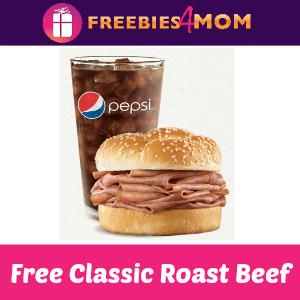 Free Arby's Roast Beef Classic