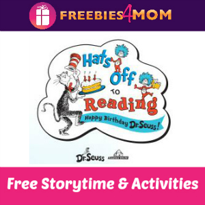 Free Dr. Seuss Storytime at Barnes & Noble