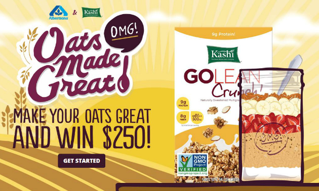 Win a Gift Card from Oats Made Great Sweepstakes
