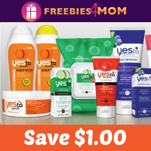 Coupon: $1.00 off any Yes To Item