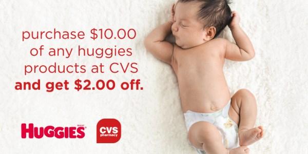 Huggies Deal at CVS