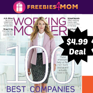 Magazine Deal: Working Mother $4.99