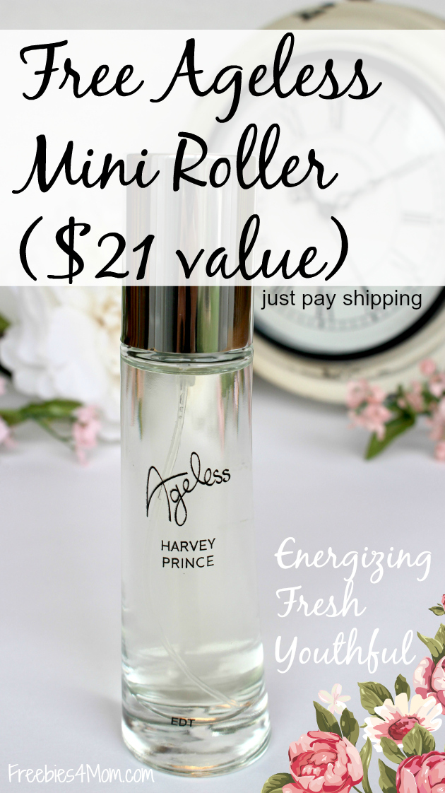 Free Ageless Mini Roller Fragrance ($21 value) just pay shipping