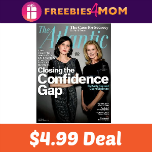 Magazine Deal: The Atlantic $4.99