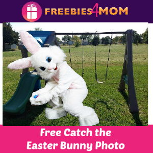 Free Catch the Easter Bunny Photo