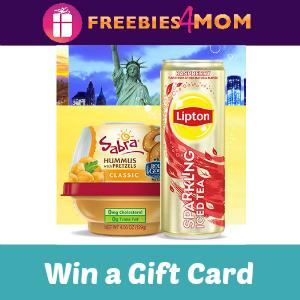 Sweeps Lipton & Sabra Sip Snack Experience