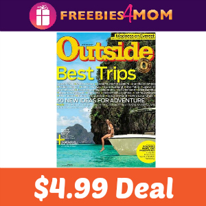 Magazine Deal: Outside $4.99