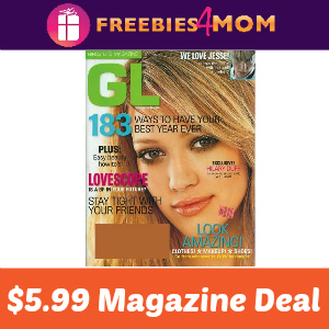 Magazine Deal: Girls Life $5.99