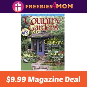 Magazine Deal: Country Gardens $9.99