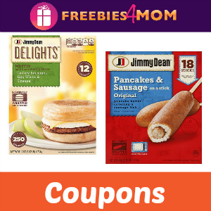 Coupons: Save on Jimmy Dean Breakfast Items