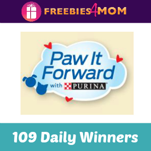 Sweeps Purina Paw It Forward