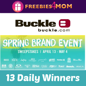 Sweeps Buckle Spring Brand Event