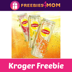 Free Lipton Sparkling Tea at Kroger