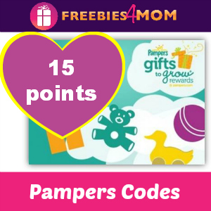 15 Pampers Points (expire 5/28)