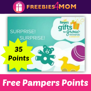 35 Pampers Points
