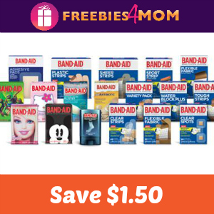 Coupon: $1.50 Off 2 Band-Aid First Aid Products