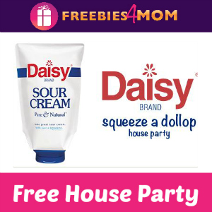 Free House Party: Daisy Squeeze a Dollop