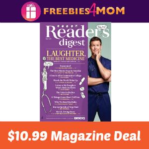 Magazine Deal: Reader's Digest $10.99