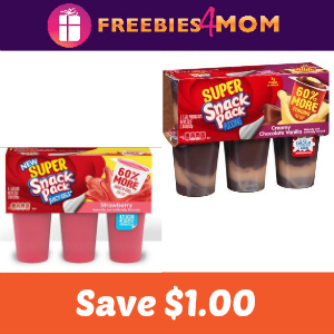 Coupon: Save $1.00 off Super Snack Pack