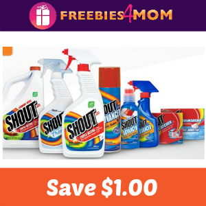 Coupon: Save $1.00 on any Shout