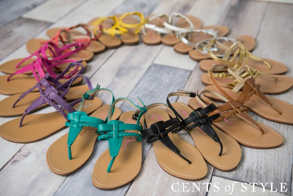 $12.95 Sandal Sale + Free Shipping!