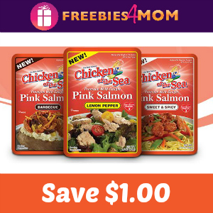 $1.00 off Chicken of the Sea Salmon Pouches