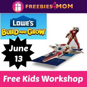 Free Iron Man's Avenjet Lowe's Kids Clinic