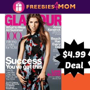 Magazine Deal: Glamour $4.99