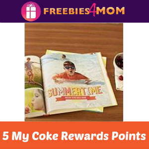 Shutterfly Book for 5 My Coke Rewards Points