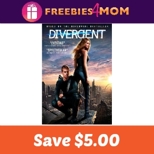 Coupon: Save $5.00 on Divergent DVD or Blu-Ray