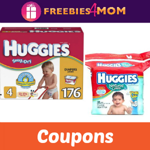 Coupons: Save on Huggies Diapers & Wipes
