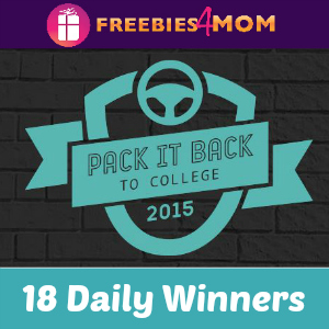 Sweeps: Target Pack It Back to College